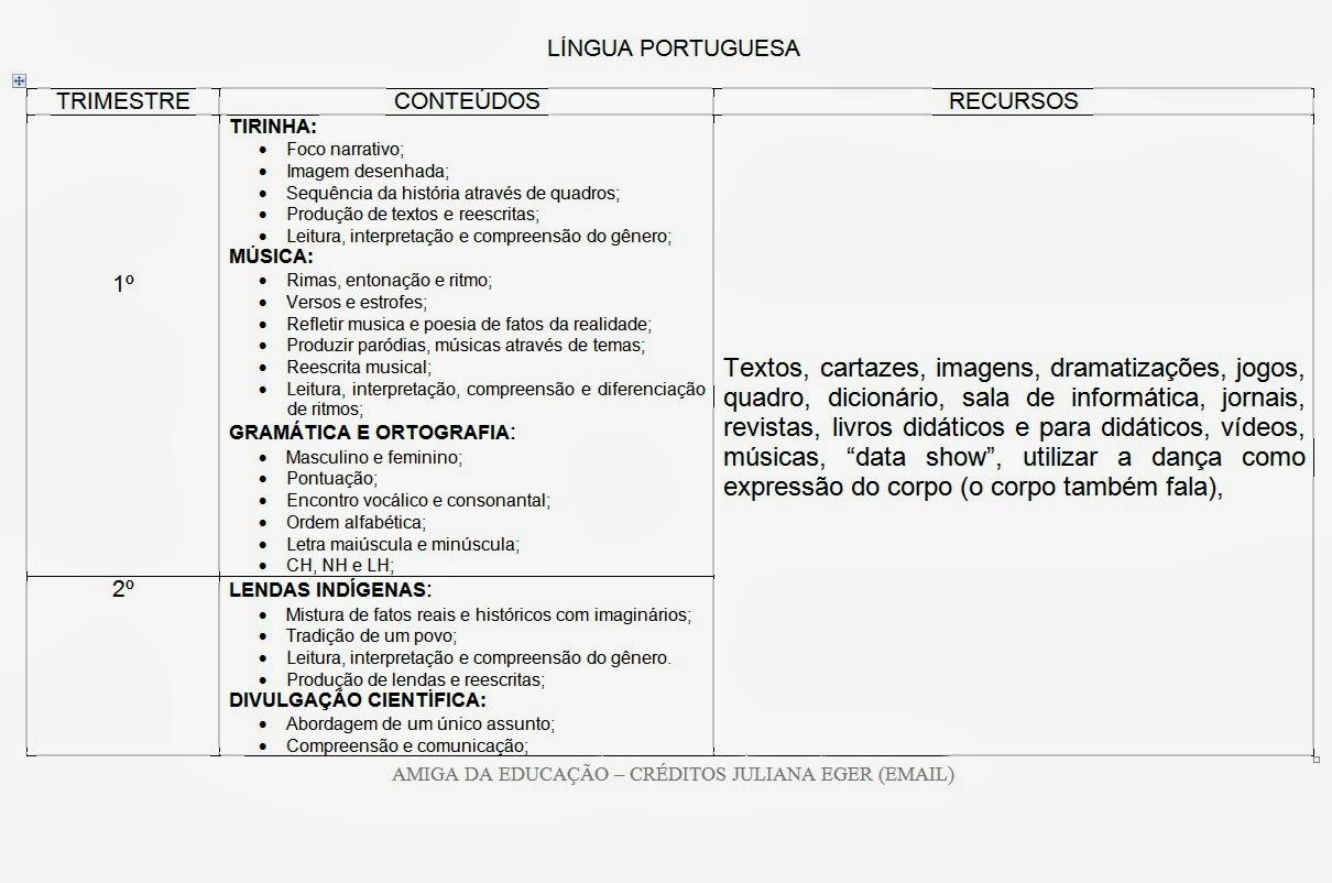 Conhecido AMIGA DA EDUCAÇÃO.: PLANO ANUAL PARA O 3º ANO. TODAS AS DISCIPLINAS. PI45