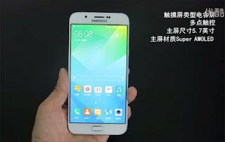 بالفيديو: الكشف عن هاتف Galaxy A8