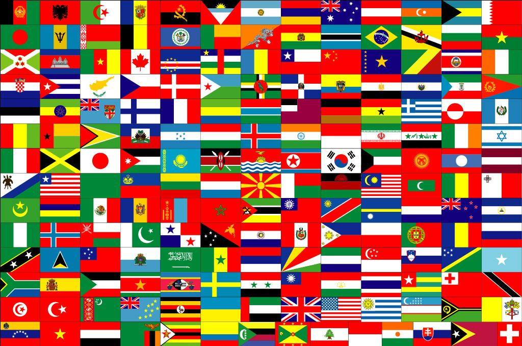 flags of the world banner - photo #20