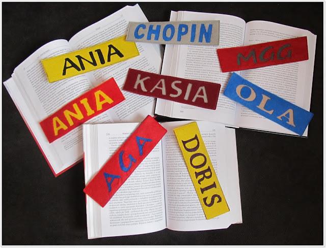 Kolorowo dla książkowych moli