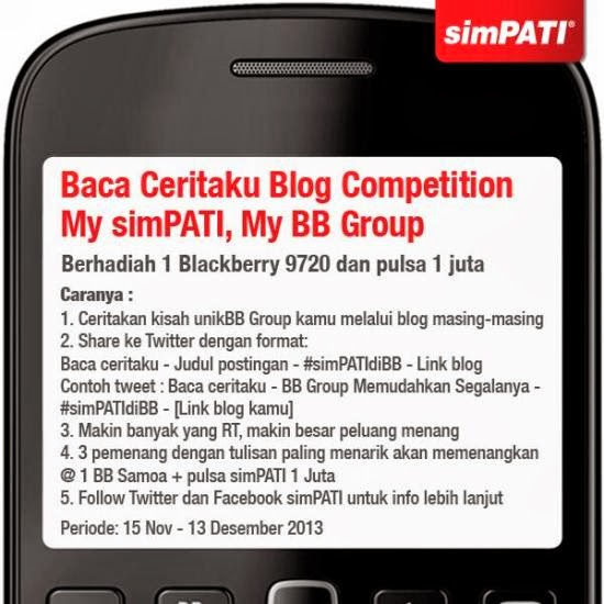 lomba blog hadiah blackberry 9720