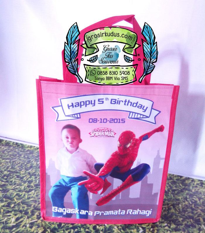 Tas Ulang Tahun Murah Spiderman