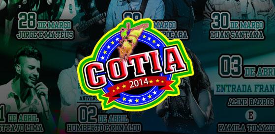 Shows rodeio Cotia 2014 ingressos preços