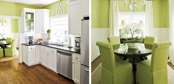 Margarida ruivo pinturas verde pistachio para interiores - Pintura pared verde ...