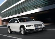 White 2013 Audi A4 Allroad