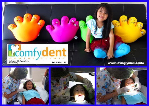 Bacolod dentist for kids - Comfydent Dental Clinic