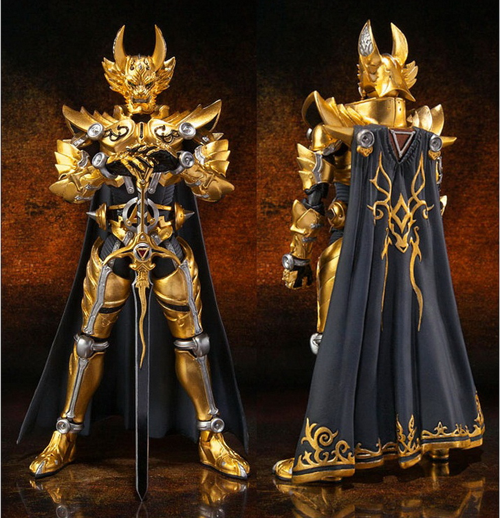 Armchair Gamer Inspiration Golden Knight Garo