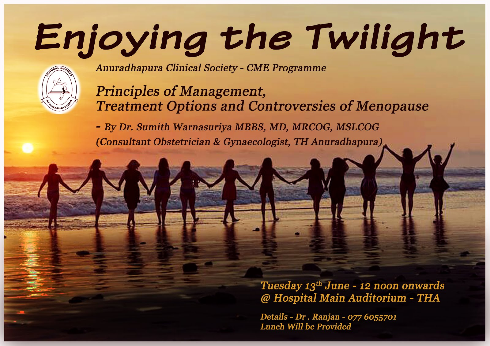 CME Lecture - Enjoying the Twilight