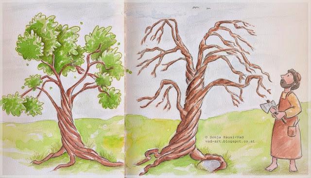 Bibel story tree