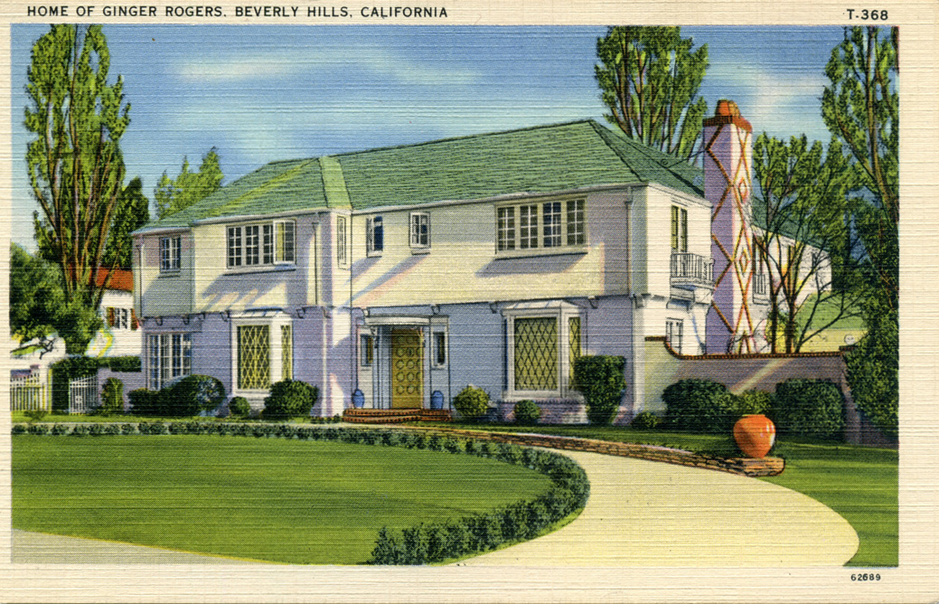 Time machine to the twenties homes of the stars part 4 for Movie star homes beverly hills