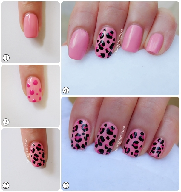Missjjans beauty blog pink leopard nail art my beauty blog going very excited and cant wait to fill in more posts in the future first post first id like to share this pink leopard nail art prinsesfo Choice Image