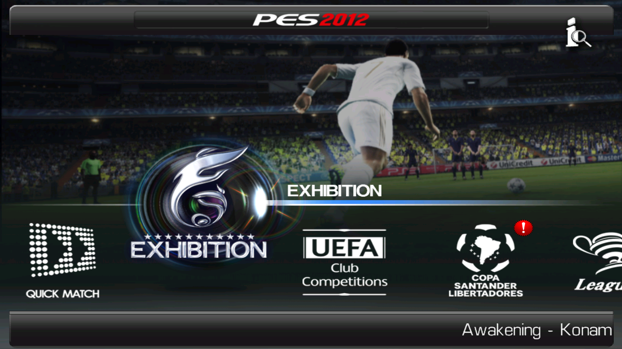 Pes 2012 1.0.5 APK+Data Files[FIXED] | Android HVGA and