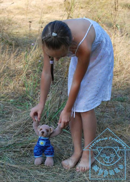 тедди, мишка, игрушка, подарок, мурико, купить игрушку, заказать игрушку, вязанная игрушка, ручная работа
