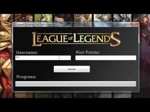 TimeForHacks: League of Legends RP Hack