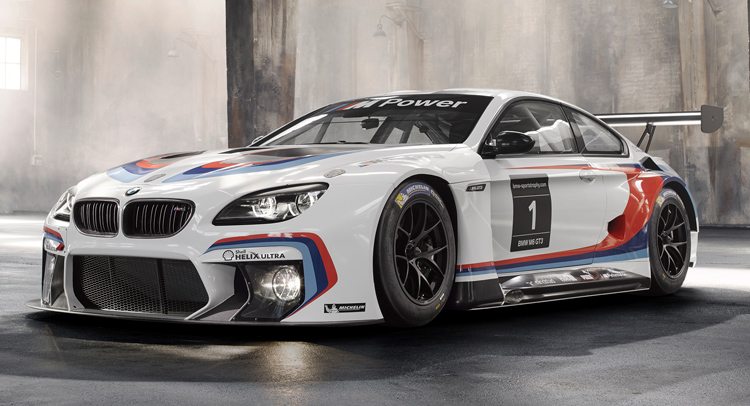 bmw begins delivering 2016 m6 gt3 to teams around the world bmw has ...