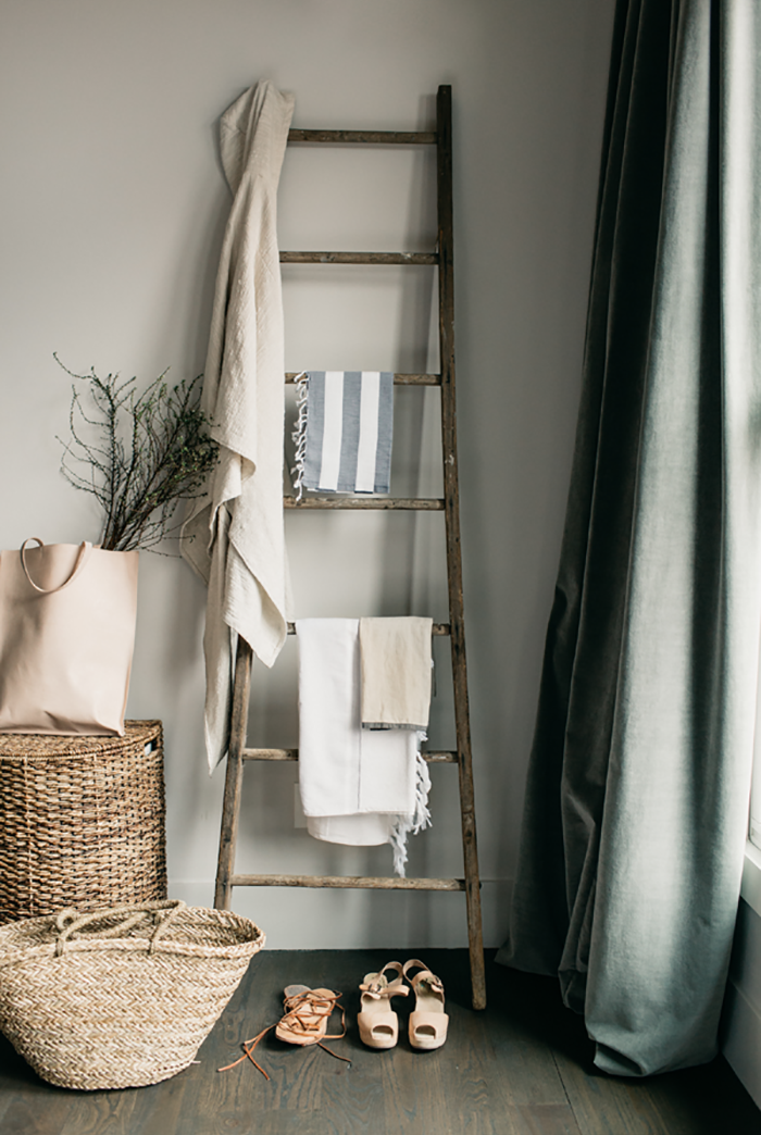 Home Decor Ladder Styling