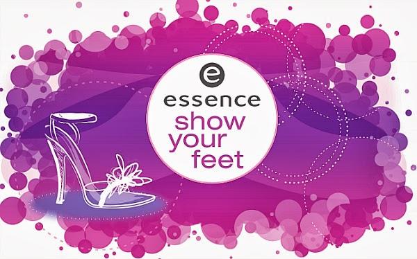 essence show your feet - Die Neuheiten ab März 2014