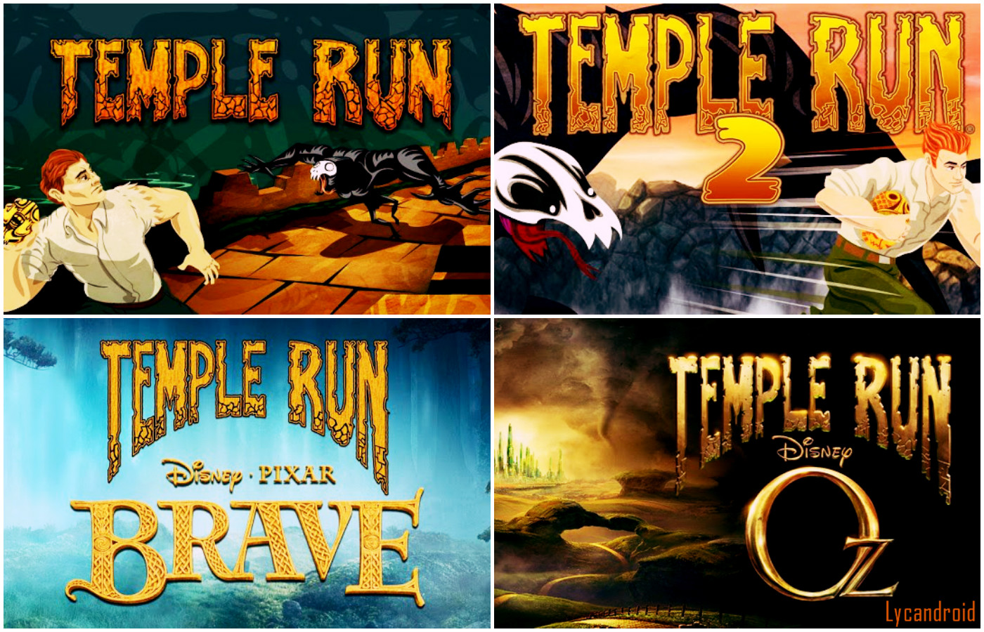 All Temple Run apk Collection [lycandroid]