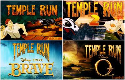 temple run temple run 2 temple run brave and the