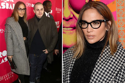 J. Lo and Her Cat-Eye Glasses