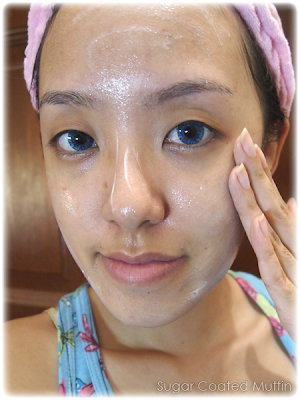 Using Sothys Morning Cleanser