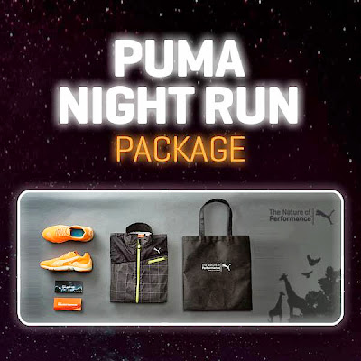 PUMA Night Run, Mobium Elite Glow, Seoul Zoo, Korea, running, fitness, health, night run package