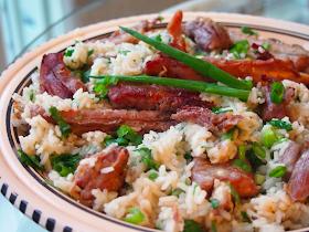 Brasilialainen ribs-riisipata