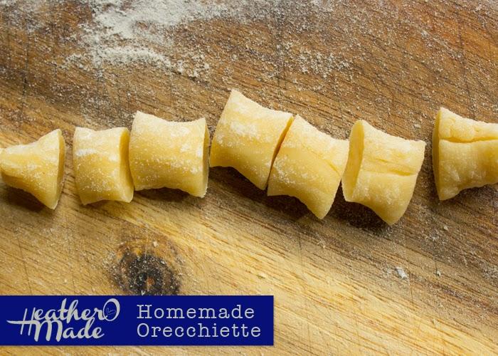 Homemade Orecchiette