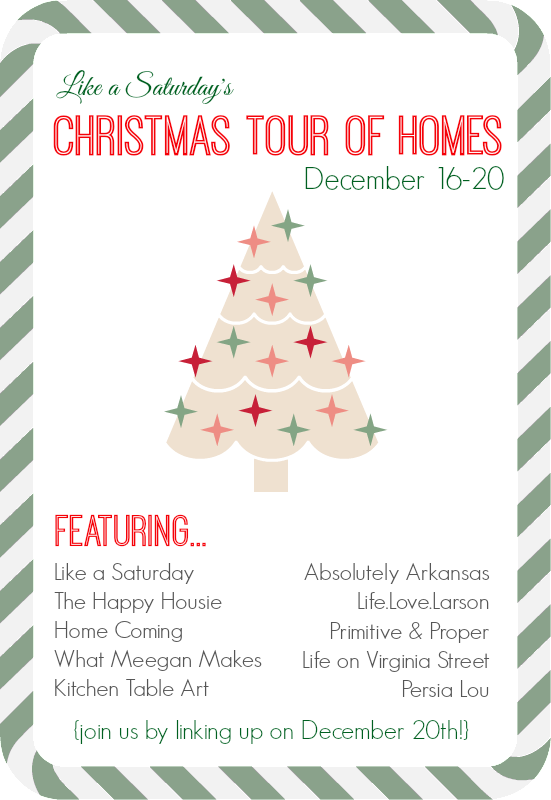 Chrsitmas Tour of Homes
