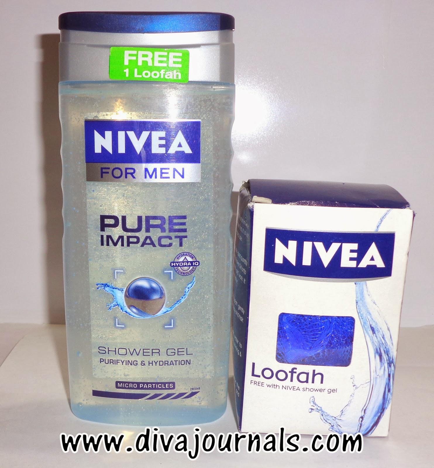 Nivea Men- Pure Impact Shower Gel Review