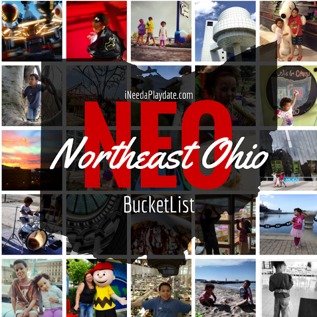 Northeast Ohio Bucket List | Family Friendly Events in #CLE + suburbs #thisiscle