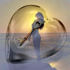 Meu coração é protegido com uma chave que só você tem acesso a ele.