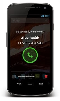 Call Confirm PRO android apk - Screenshoot