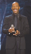 One to Eddie Murphy, who received the Legendary Comedian Award, .