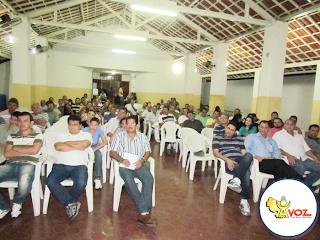 """CDL realiza reunião do movimento """"Santa Quitéria clama por segurança""""  - Por Thiago Rodrigues / Santa Quitéria"""