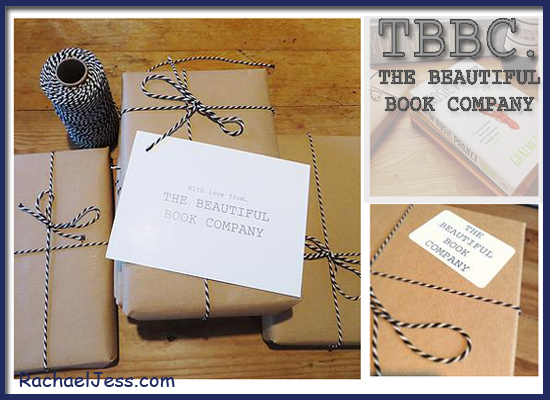 Beautifully wrapped books from TBBC gifting service