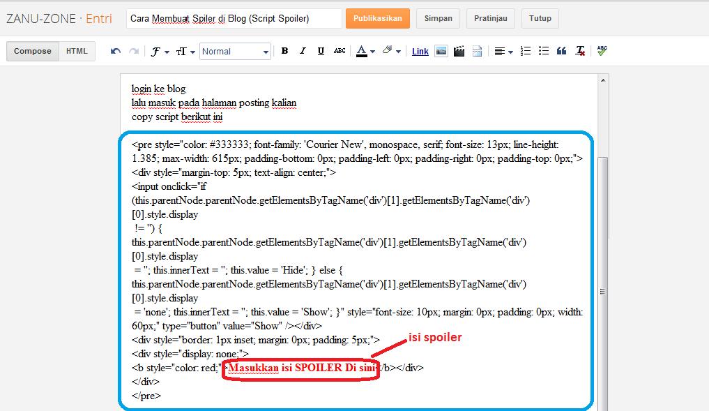1017 x 589 · 48 kB · png, Cara Membuat Spoiler di Blog (Script ...