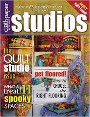 STUDIO PUBLISHED IN CLOTH PAPER SCISSORS FALL 2010