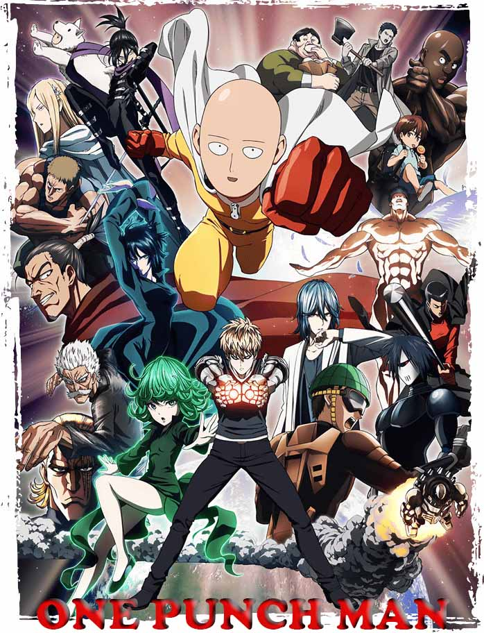 One Punch Man 1ª Temporada Torrent – WEB-DL 720p Legendado (2015)