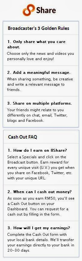 Share New Things, Get Rewarded!