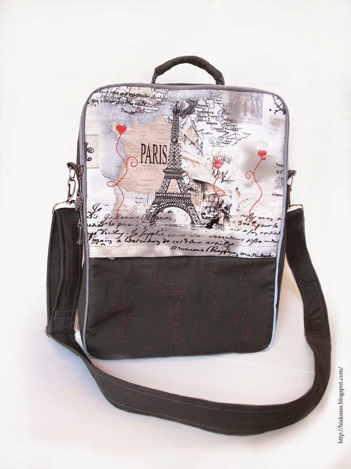 рюкзак Париж