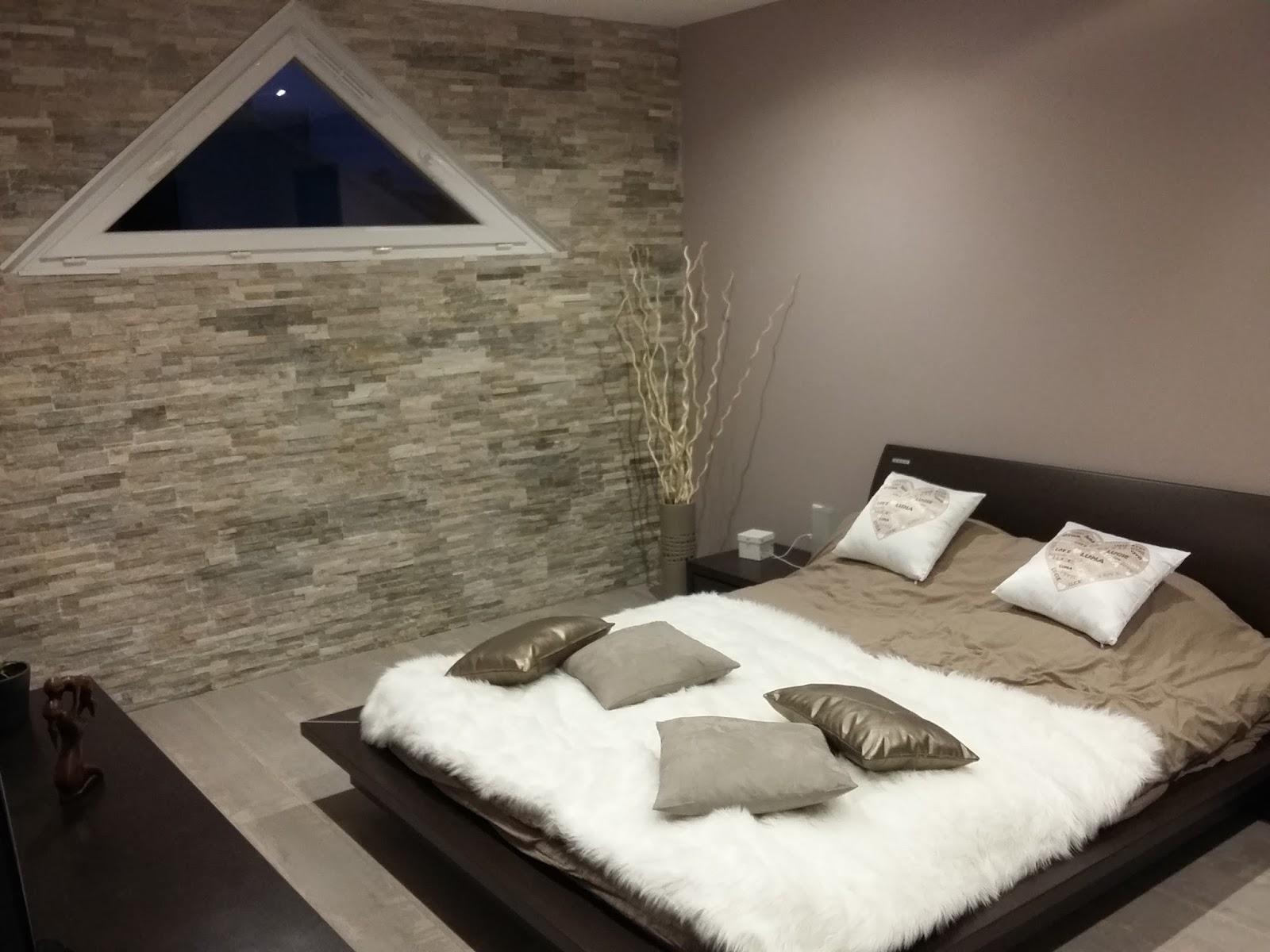 Deco Salon Couleur Lin Et Taupe Indogate peinture chambre