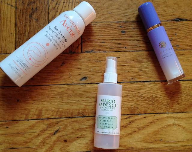 Facial Sprays Avene, Mario Badescu, Tatcha