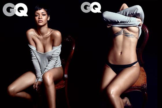 Les photos ultra sexy de Rihanna pour le magazine GQ