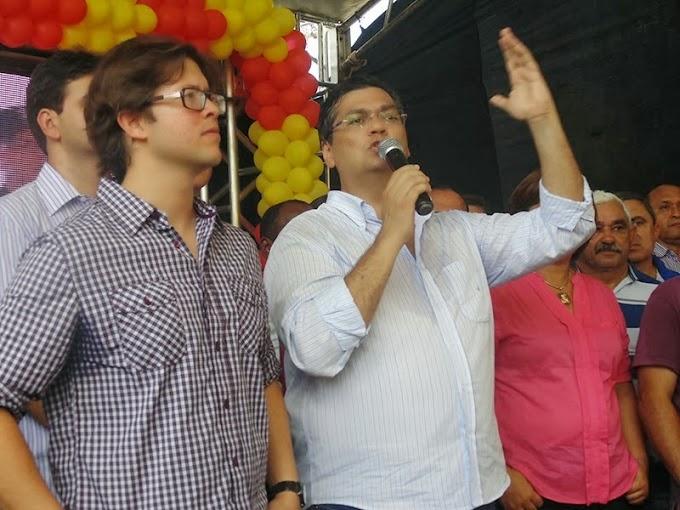 Léo Coutinho e Flávio Dino Juntos e Misturados. E o Parque Industrial de Caxias pede socorro!!!