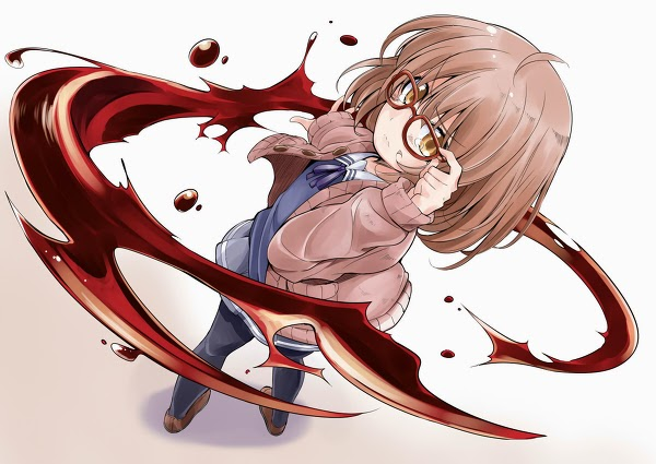 Kyokai No Kanata anime novela lijera sobrenatural