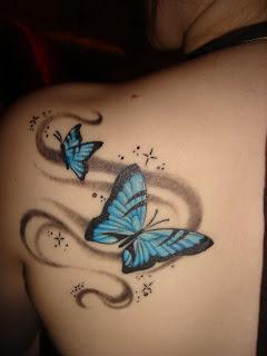 popular butterfly tattoos