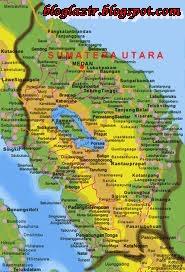Gambar Peta Sejarah Sumatera Utara (Medan)