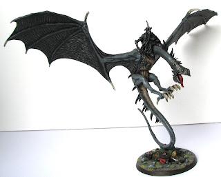 Figurka Króla Nazguli na bestii