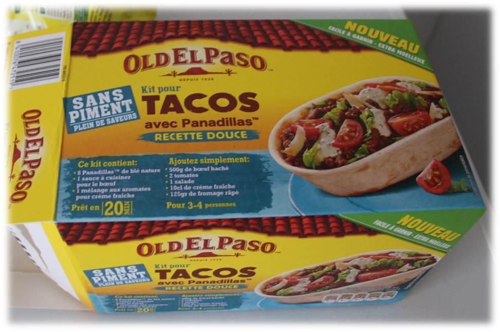 flo en cuisine test de produit 1 kit pour tacos avec panadillas oldelpaso. Black Bedroom Furniture Sets. Home Design Ideas